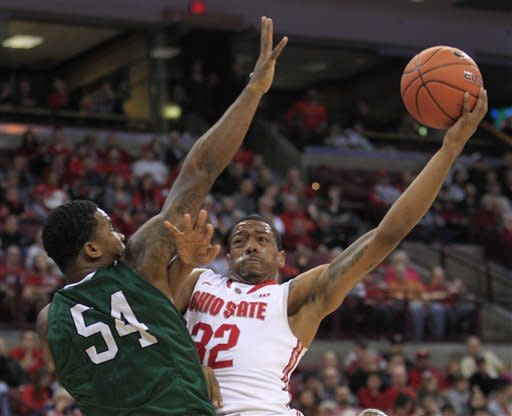 Thomas has 17 points, No. 10 Buckeyes roll 87-44