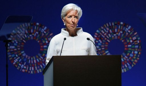 "<p>Public debt in developed countries standing at ""wartime levels"" is the biggest threat to the global economy, IMF chief Christine Lagarde warned in Tokyo on Friday.</p>"