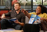 Joel McHale, Yvette Nicole Brown | Photo Credits: Jordin Althaus/NBC