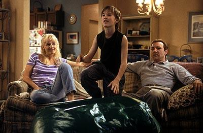 Helen Hunt , Haley Joel Osment and Kevin Spacey in Warner Brothers' Pay It Forward
