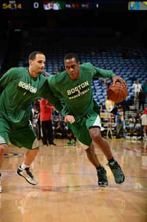 Rondo nears Celtics return 1 year after ACL injury