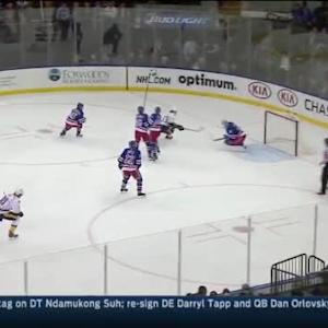Cam Talbot Save on Roman Josi (09:02/1st)