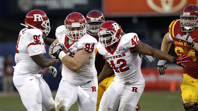 New Era Pinstripe Bowl - Rutgers v Iowa State