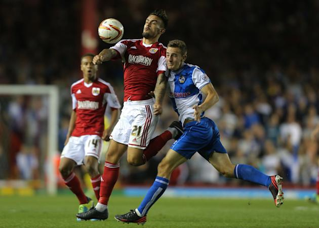 Soccer - Johnstones Paint Trophy - Bristol City v Bristol Rovers - Ashton Gate