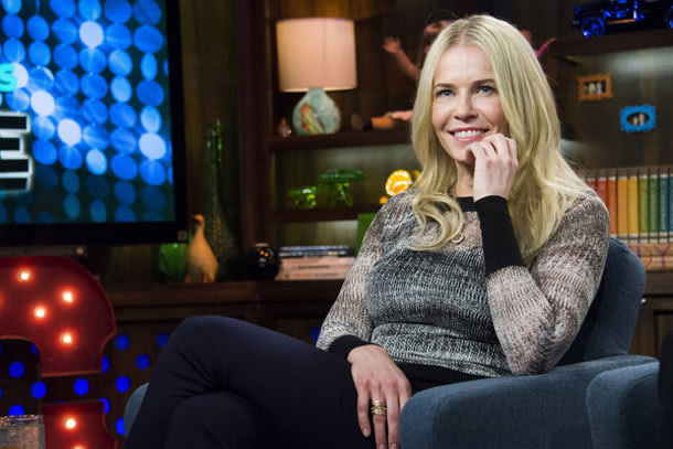Chelsea Handler on the set of 'Watch What Happens Live' (Charles Sykes/Bravo)Taylor Swift must think there's a special place in hell for Chelsea Handler, too.