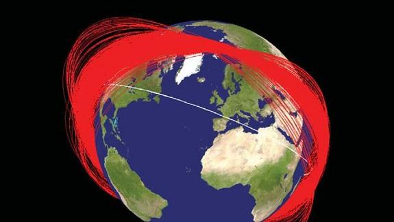 Russian Satellite Hit by Debris from Chinese Anti-Satellite Test