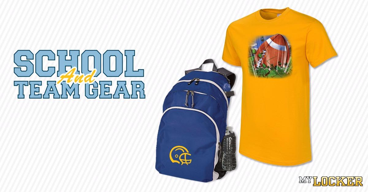 Make Your Own 100% Custom School and Team Apparel
