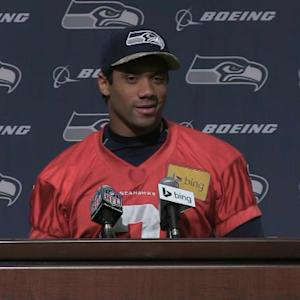 Seattle Seahawks quarterback Russell Wilson drafted by the Texas Rangers