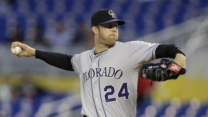 Rockies hold on for 6-5 win over Marlins