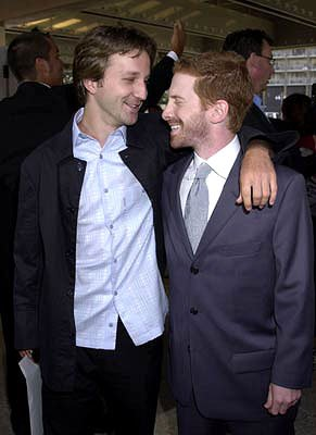 Premiere: Breckin Meyer and Seth Green at the Century City premiere of Paramount's Rat Race - 7/30/2001