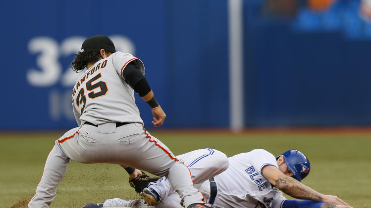 MLB: San Francisco Giants at Toronto Blue Jays