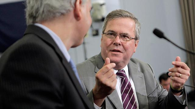 Jeb Bush Offers Some Praise to Obama, Again Rejects Romney VP Idea