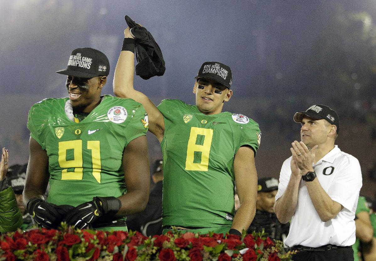 Oregon plans new sports science facility named after Marcus Mariota (Photos)
