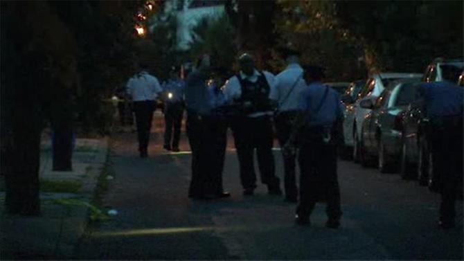 Man shot 6 times in Overbrook driveway