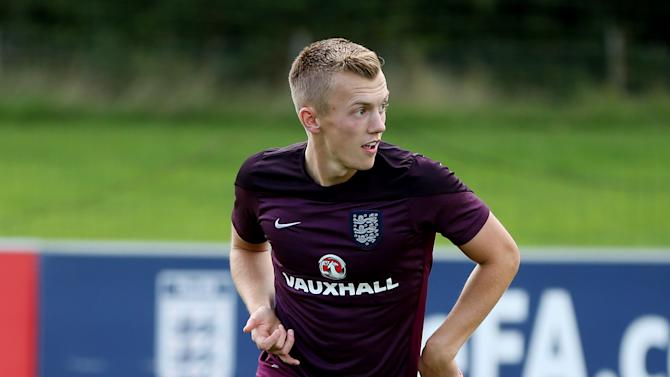 England's James Ward Prowse during training