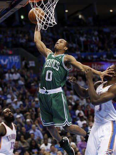Thunder hand Celtics 5th straight loss, 119-104
