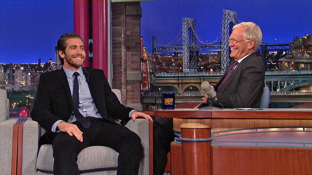 David Letterman - Jake Gyllenhaal's Dart Accident