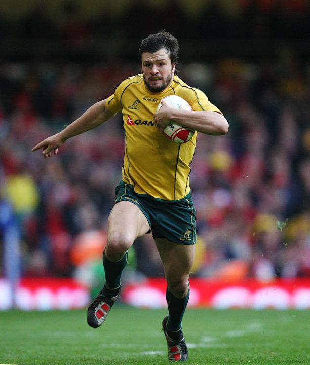 Rugby Union - Australia's Adam Ashley-Coope