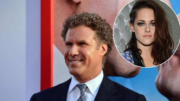 Will Ferrell arrives at the premiere of 'The Campaign' at Grauman's Chinese Theatre in Hollywood, Calif. on August 2, 2012 / inset: Kristen Stewart -- Getty Images