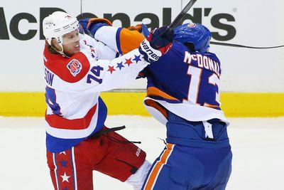 Brawl between Capitals and Islanders erupts at end of Game 6