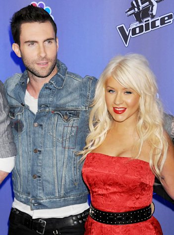 "Christina Aguilera on Leaving The Voice: ""I'm Going to Miss"" Adam Levine"