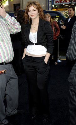 Amber Tamblyn at the Hollywood premiere of Warner Bros. Pictures' Batman Begins