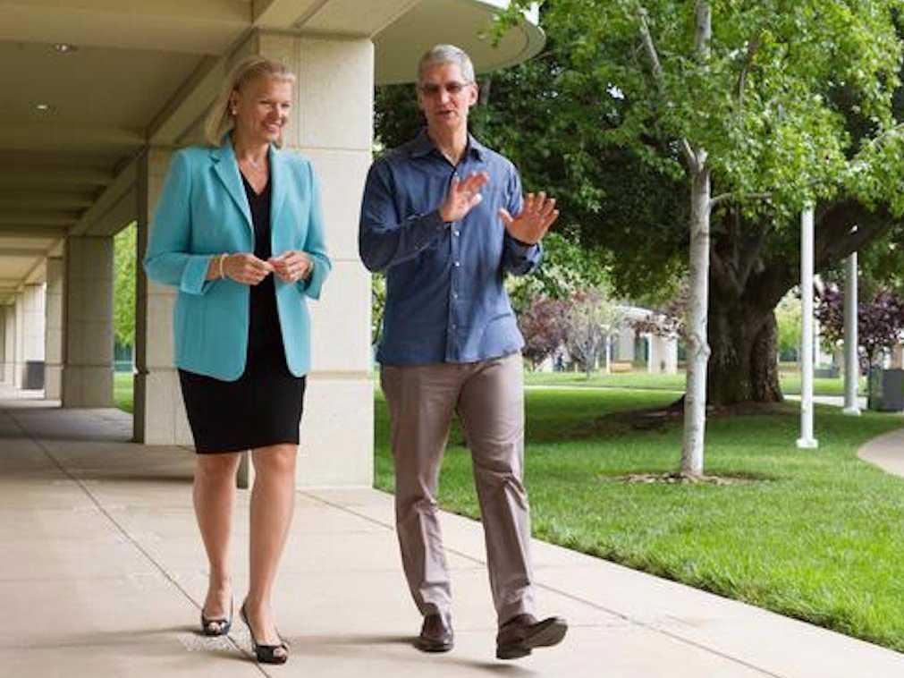 For the first time, IBM offers to buy employees a Mac and will become one of the biggest Apple shops