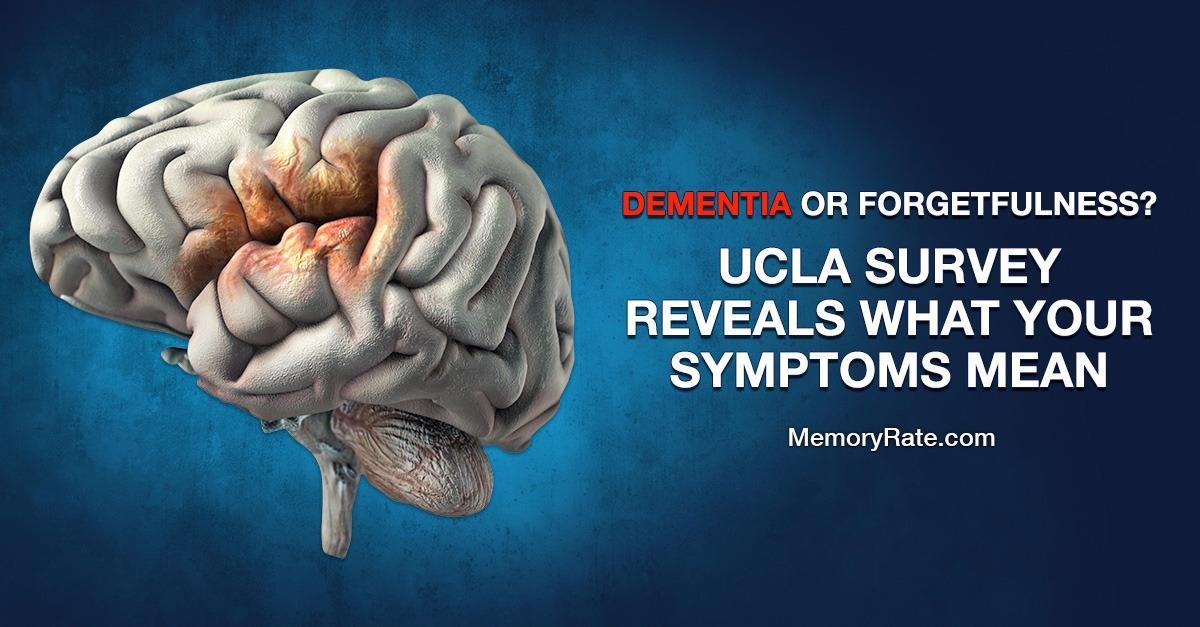 UCLA Survey Identifies Dementia Warning Signs.