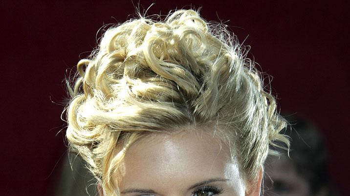 Maggie Grace at The 57th Annual Primetime Emmy Awards.