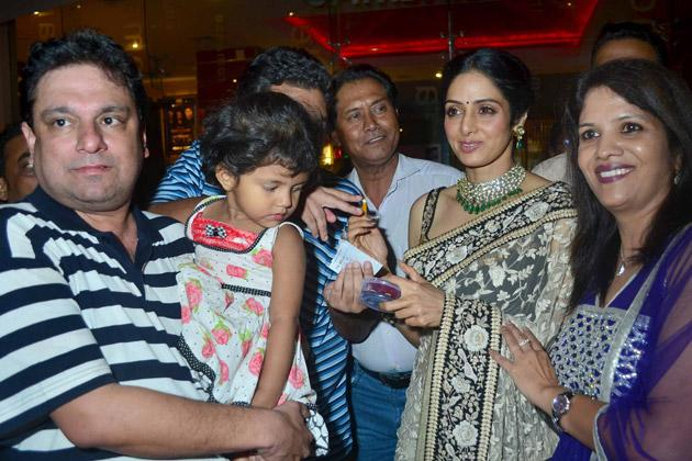 Sridevi enjoys 'English Vinglish' success