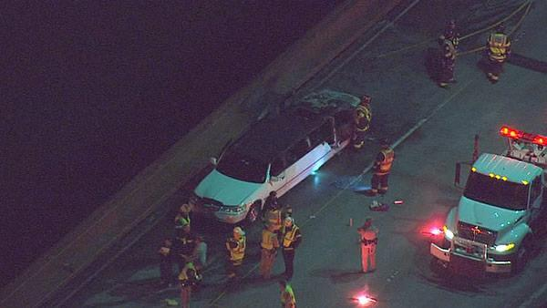 5 women killed in limo fire on San Mateo bridge