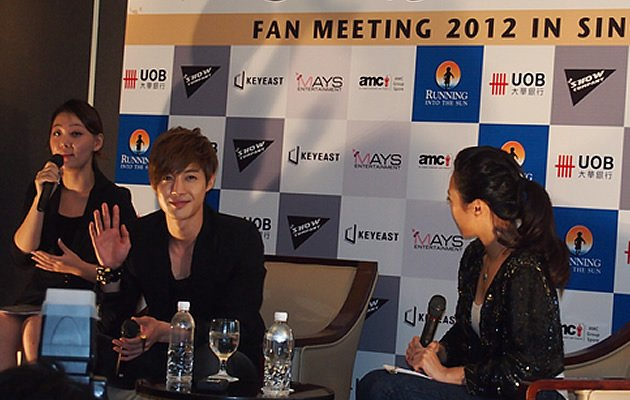 Kim Hyun Joong Press Conference 2012 (Yahoo! photos / Elizabeth Soh)