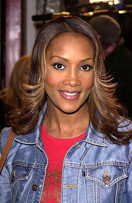 Vivica A. Fox at the Hollywood premiere of Paramount's Down To Earth