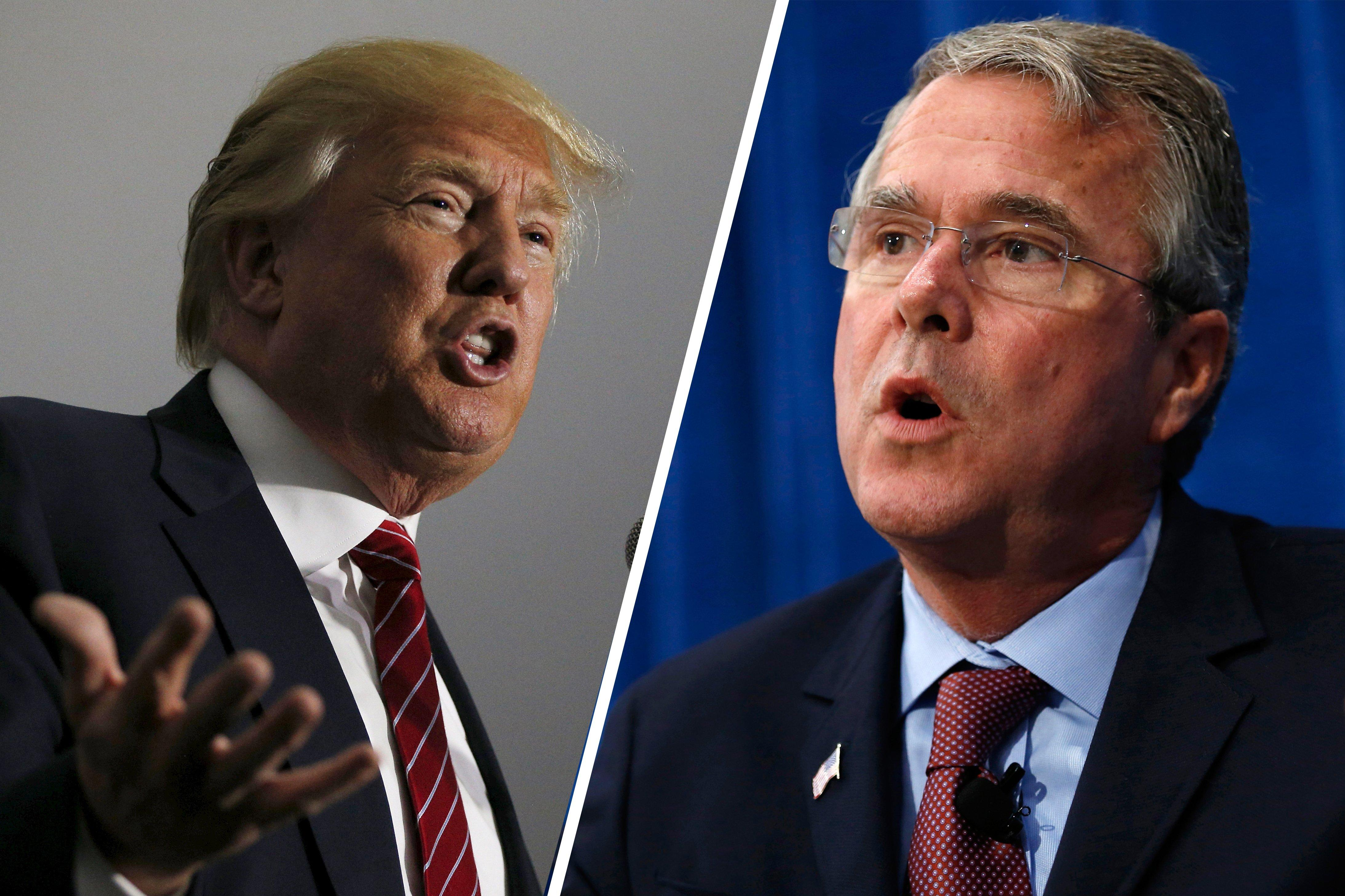 Bush: Trump Is Wrong and Scary, but Still Better than Clinton