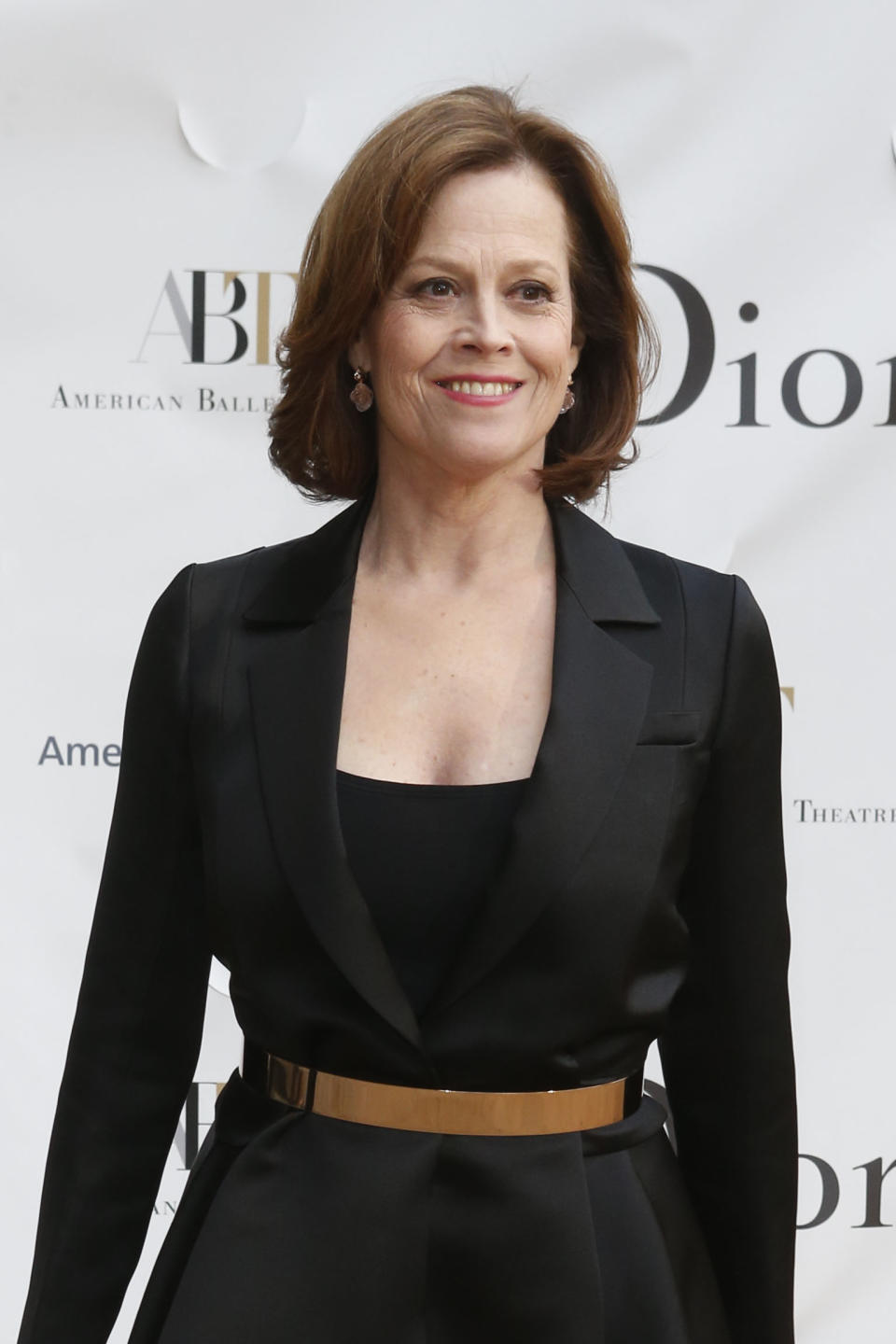 Actress Sigourney Weaver arrives for the American Ballet Theatre Spring Gala at the Metropolitan Opera House, Monday, May 13, 2013 in New York. (Photo by Jason DeCrow/Invision/AP)