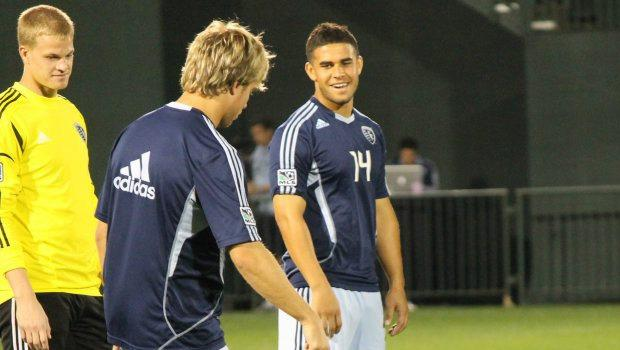 "Newly recalled Sporting KC forward Dom Dwyer won't be a spectator: ""He's here to play"""