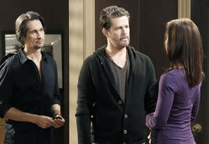 Michael Easton, Ted King and Florencia Lozano | Photo Credits: Lou Rocco/ABC via Getty Images