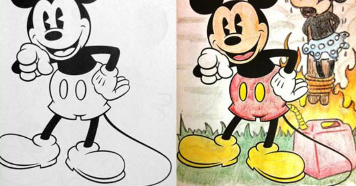 27 Interesting Images In Children's Coloring Books