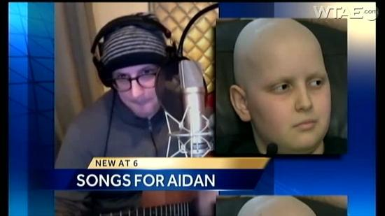 YouTube channel helps child with cancer