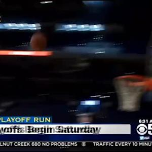 Warriors Playoff Games Begin Saturday