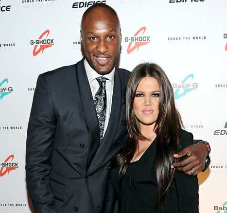"Khloe Kardashian Doesn't Know Where Lamar Odom Is; ""Exhausted"" by Ordeal"
