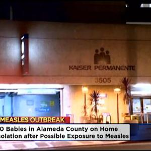 Babies In Alameda County Put On Home Isolation Due To Possible Measles Exposure