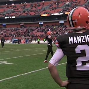 'Sound FX': Cleveland Browns quarterback Johnny's debut