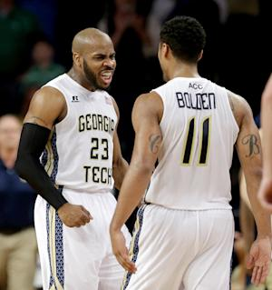 Golden, Miller lead Georgia Tech past Irish 74-69