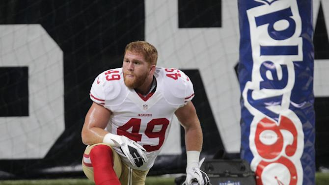 49ers fullback Bruce Miller likely done for season