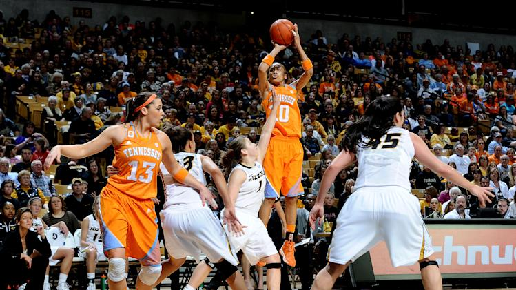 NCAA Womens Basketball: Tennessee at Missouri
