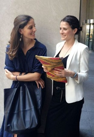 Left: Soraya Darabi; right: Maxine Bédat.