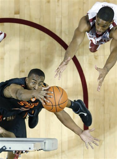 Oklahoma downs Oklahoma State 77-68 in Bedlam