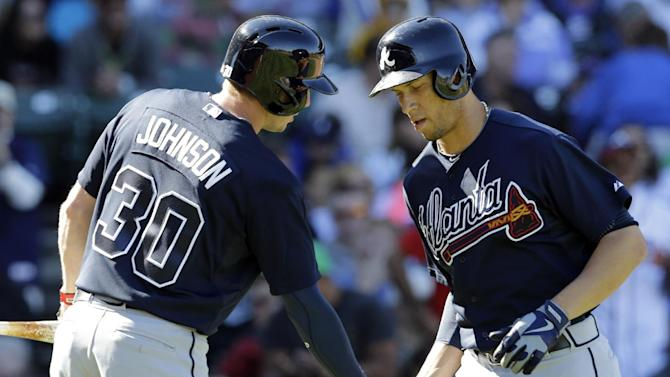 Braves grab NL East title, beat Cubs 5-2