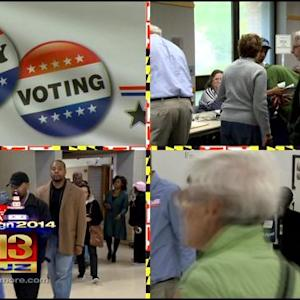 Marylanders Get A Jump Start In Election 2014 With Early Voting